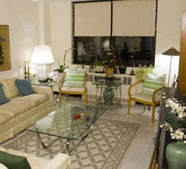 Living Room at Isabella House